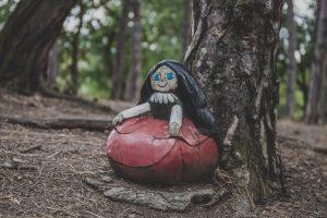 Manka z lesa Řáholce - pohádkový les Bílina