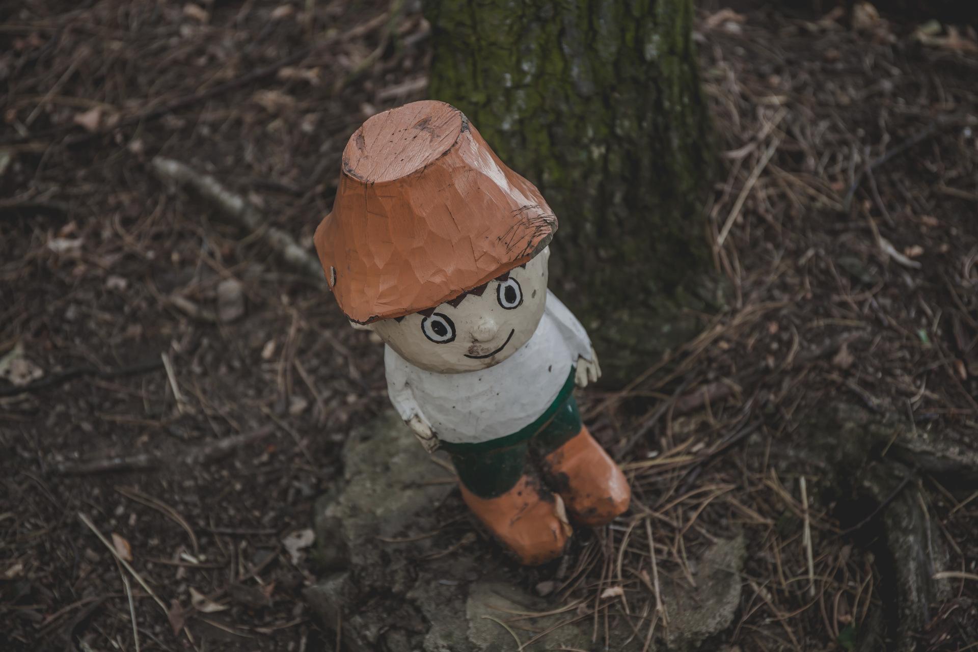 Cipísek z lesa Řáholce - pohádkový les Bílina